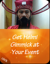 Get Helmi Gimmick at Your Event